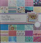 "Grace Taylor Boheme 12""x12"" Paper Pad 100 Sheets Gs2733"