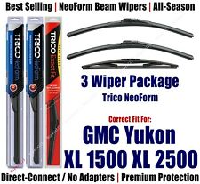 3pk Wipers Front/Rear NeoForm 2009-2014 GMC Yukon XL 1500 XL 2500 - 16220x2/12E