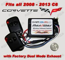 2008 - 2013 C6 Corvette Mild 2 Wild NPP Exhaust Control - FREE USA Shipping
