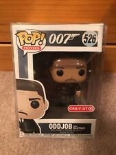 Oddjob Goldfinger Funko Pop Movies Target Exclusive 007 James Bond W/Protector