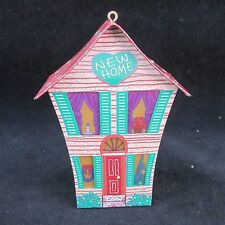 Christmas Tree Decoration Tin House light holder Hallmark
