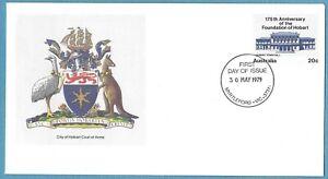 Australian 1979 Hobart Cover Stamp D260