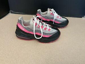 Kids Girls Nike Air Max 95 Running Shoes. Size 13C. Great Condition!!!