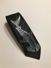 Shark Necktie , Art On A Tie , Hammer Shark , Fun And Cool