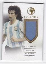 2019 Mario Kempes #/27 Jersey Futera Unique Argentina Soccer