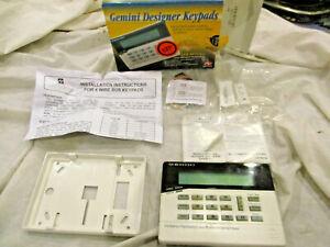 NAPCO GEMINI KEYPAD GEM-RP1CAe2 ALARM SECURITY CONTROL used key pad new base