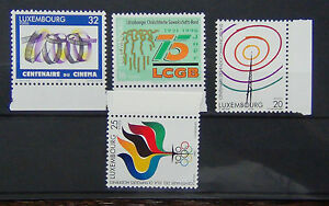 Luxembourg 1996 Anniversaries Set MNH