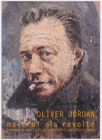 Oliver Jordan - original signiert Autogramm auf Kunstpostkarte - Albert Camus