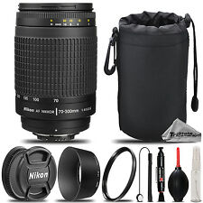 Nikon 70-300mm f/4-5.6G AF Nikkor Zoom Lens for D7000, D7100, D7200, D750