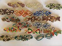 Diamante Crystal Rhinestone Bling Hair Clip Pin Barrette Accessory For Women