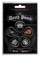 Five Finger Death Punch 5FDP Guitar Plectrum Pick 5 Pack Official Picks Set