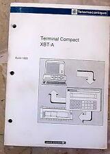 TELEMECANIQUE MANUEL TERMINAL COMPACT XBT A