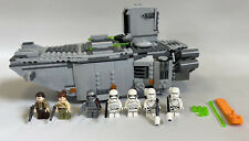 Lego Star Wars 75103 First Order Transporter 7 Figures Captain Phasma Complete