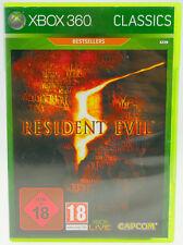 Resident Evil 5-complet dans neuf dans sa boîte Microsoft X-BOX 360 x360 #2