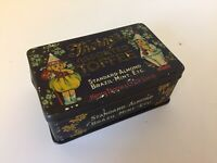 Vintage Small Thornes Assorted Toffee Tin Sweet Box c1920's Antique Advertising