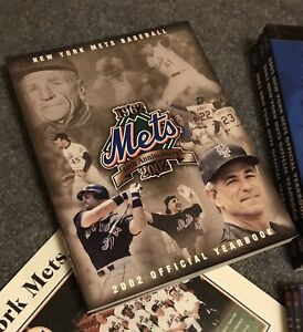 Brand New 2002 New York Mets Yearbook Mint Condition