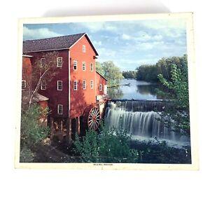 DELLS MILL, AUGUSTA, WISCONSIN, #1206 PUZZLEBUG 1000 piece Jigsaw Puzzle
