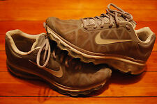 Women's Nike Air Max 2011 Stealth Gray Pure Platinum Running Sneaker (7.5)