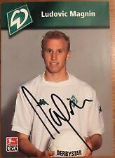 Werder Bremen, SV Werder, Autogrammkarte, Orginal Autogramm, SVW, Bremen