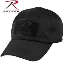 Black Police Low Profile Adjustable Tactical Hat Operator Cap Rothco 9362