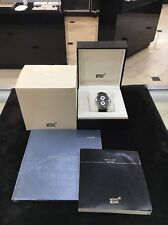 Montblanc Star 4810 Chronograph Automatic Watch Never Worn Box Papers