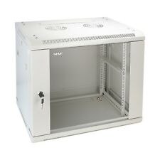 HMF 19 Zoll Serverschrank Netzwerkschrank 9he montiert Wandgehäuse tiefe 60 Cm