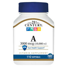 21st Century VITAMIN A 10000 IU - 110 Softgels EYE Health Support