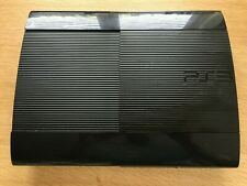 Sony PS3 Playstation 3 Super Slim Black Console Only Seller Refurbished