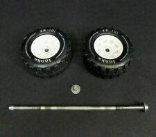 Tonka XR-101 Wheels Tires Axle Assembly Turbine 1970's Vintage Fire Dump Semi