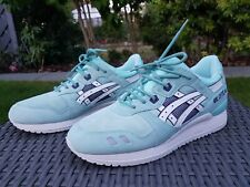 Asics Gel Lyte III ❄Snowflake❄, UK 8, EU 41.5, Mint Ice Blue, Ronnie Fieg, 2014