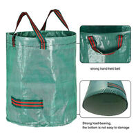 Large Garden Waste Bag ,Grass Rubbish Bag Sack,Reusable Garden Refuse Sack G6A