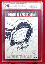 Ultimate Spider-Man #160 PGX (not CGC) 9.8 NM/MT Ken Haeser Sketch SS STAN LEE!!