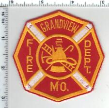 Grandview Fire Department (Missouri) Shoulder Patch from the 1980's