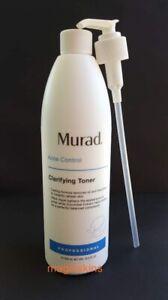 Murad Acne Clarifying Toner Pro Size 16.9 fl oz/500mL NEW AUTH