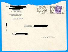 Busta 1939 50c con timbro VISITATE L'ITALIA