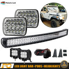LED Headlights+LIGHT BAR DRL for International 5900i 7300 7400 9200 9400 9900