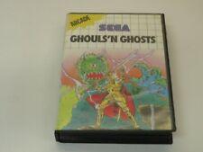 !!! SEGA MASTER SPIEL Ghouls ´N Ghosts, ohne Anleitung GUT !!!