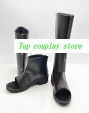 Naruto Cosplay Sakura Haruno Black Shinobi Boots shoes Ninja Version D #NAR005