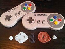 New SNES Super Nintendo/Famicom remplacement Boutons PATINS en caoutchouc Pièces Réparation