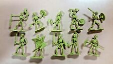 Giant Skeleton Army D&D Pathfinder Miniature Lot of 10 Dungeons and Dragons AD&D