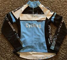 Cycling LANCE SOBIKE Small L/S Bicycle Jersey EUC Full Zip Speed Art Cycling