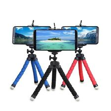 Tripod camera desk holder Flexible Octopus Bracket with Clip Any Mobile Phones