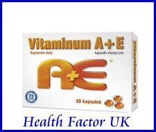 Vitamin A + E 30 capsules HASCO