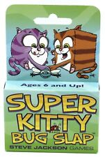 Super Kitty Bug Slap SJG1569 Card Game Steve Jackson Games Cat Kitten Matching