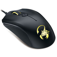 Genius GX Gaming Mouse M6-400 w/ 7-Color LED Breathing Lights for PC Windows Mac