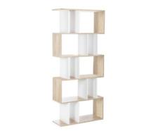 Display Shelf Unit 5 Shelves Bookshelf Shelving Storage Bookcase Modern Shelves
