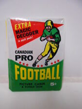 CFL Football rare sealed cards pack 1964