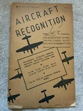 More details for aircraft recognition - list 'c' for elementary flying training schools rnzaf