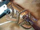 """"""" WESTERN HAND TOOLED LEATHER HOLSTER """" - for """" 1911 FULL SIZE GOVT """" ."""