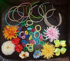 Lot of Hair Accessories Hair Clip Flowers Elastic Hairband Multicolor